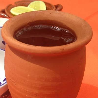 Agua de jamaica tradicional