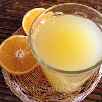 Agua de naranja