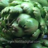 Alcachofas a la mexicana