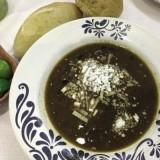 Crema de cuitlacoche (huitlacoche)