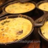 Huevos al horno en cazuela