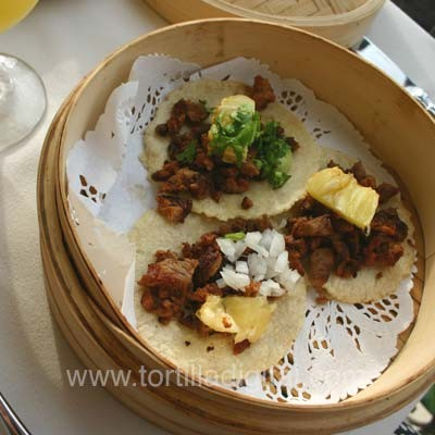 Tacos al pastor estilo Michoacán